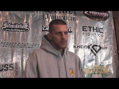 "Ben ""The Baker"" Neumann Pre Fight Interview"