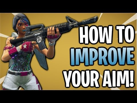 Fortnite: How To Improve Your Aim And Find The Best Sensitivity! PC & Console
