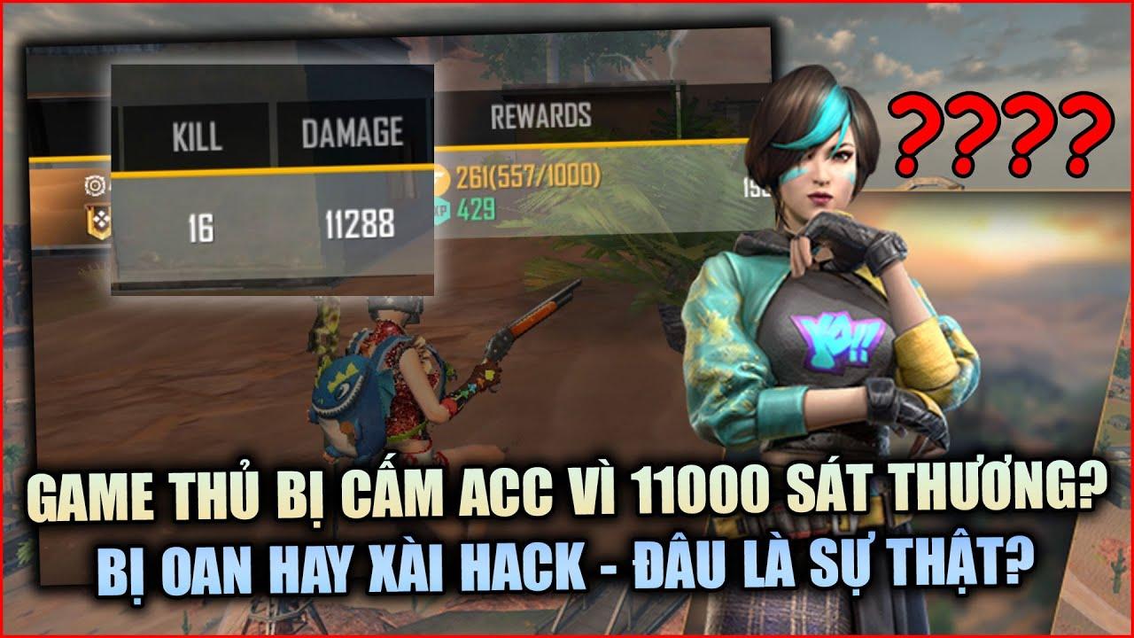 Free Fire | Tranh Cãi Việc Game Thủ Bị Cấm Acc Kêu Oan Vì Ván Đấu 11000 Sát Thương | Rikaki Gaming