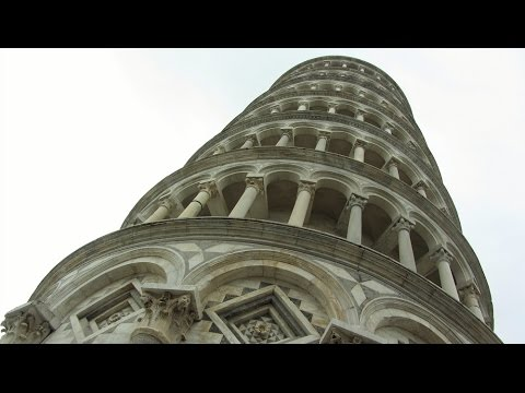 Leaning Tower of Pisa in Italy travel video