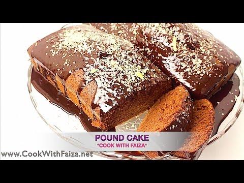 Pound Cake By Faiza