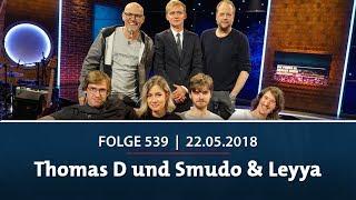 Die Pierre M. Krause Show vom 22.05.2018 mit Thomas D, Smudo, Regina Hixt und Leyya