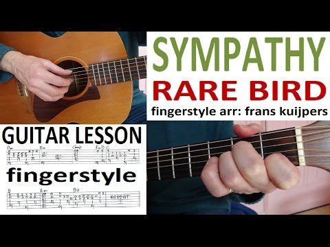 SYMPATHY - RARE BIRD -  fingerstyle GUITAR LESSON