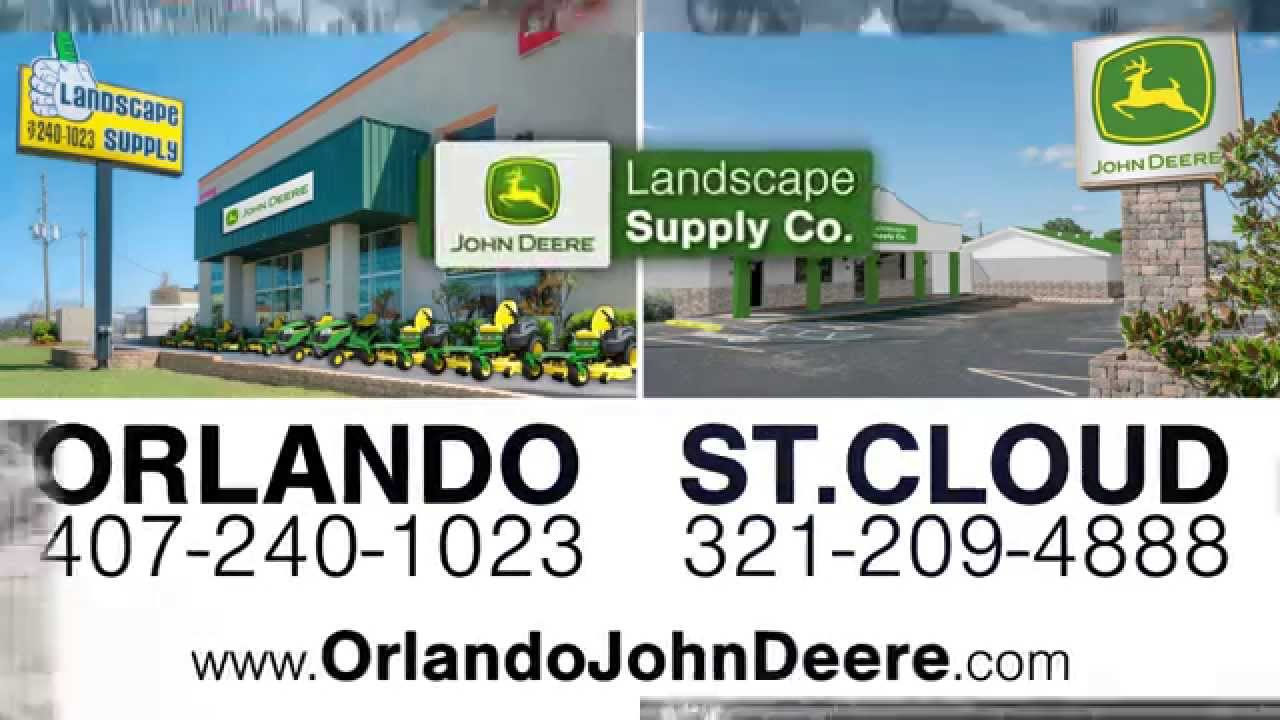 John Deere At Landscape Supply In Central Florida