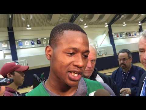 "Boston Celtics guard Terry Rozier on Brandon Jennings: ""He"