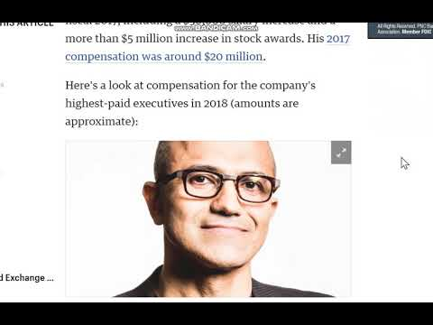 Microsoft's CEO makes 154 times more than its median employee