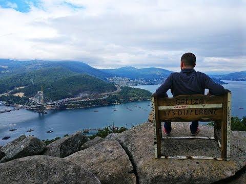 El banco m s bonito del mundo galicia youtube for El bano mas bonito del mundo