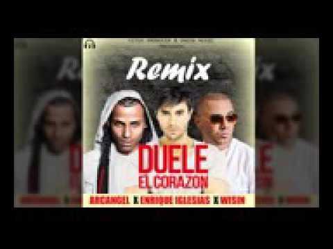 Download Duele El Corazon Remix   Enrique Iglesias Ft  Arcangel & Wisin