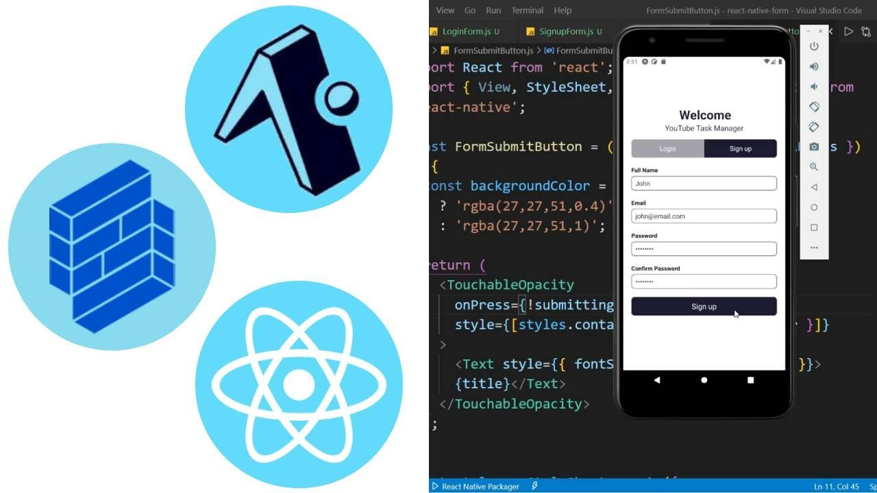 Form Validation with React Native Formik and Yup