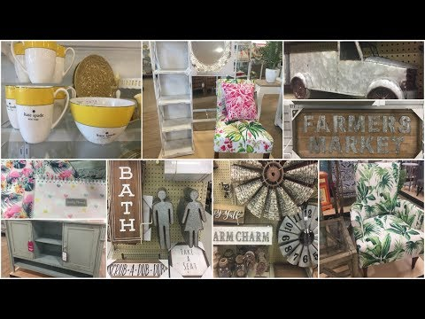 SHOP WITH ME | HOME GOODS & HOBBY LOBBY | Country Charm