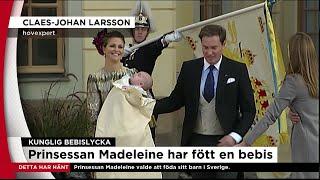 Prinsessan Madeleine och Chris O''Neill har blivit föräldrar igen - Nyheterna (TV4)