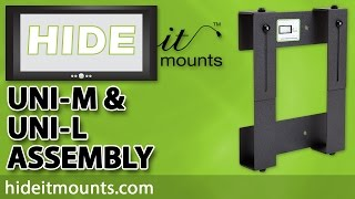 HIDEit How To - Uni-M MW MXW & Uni-L LS Assembly