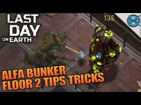 ALFA BUNKER FLOOR 2 TIPS TRICKS | Last Day on Earth: Survival | Let's Play Gameplay | S02E17