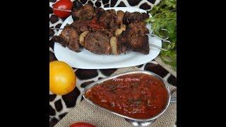 Сацебели  Грузинская кухня