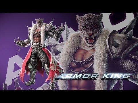 Tekken 7 Menesis (Lei) Vs Tinky (Lars/ArmorKing/Kuma)