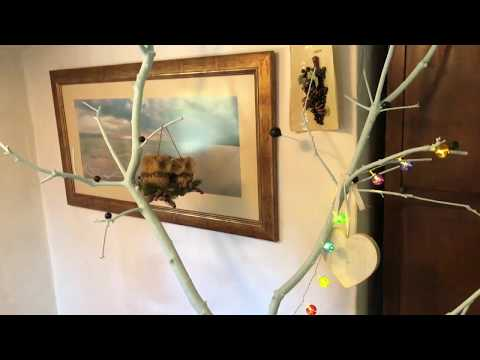 DIY DECORATION IDEAS / HOW TO MAKE DECORATIVE TREE BRANCHES