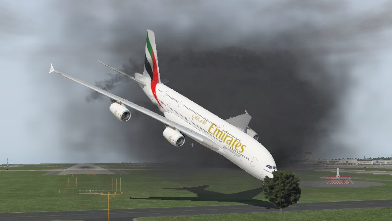 Taking a Look At X-Plane 11 - I FLY AND CRASH THE AIRBUS A380-800