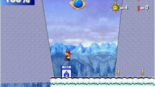 Super mario sunshine 128 : All un finsh levels