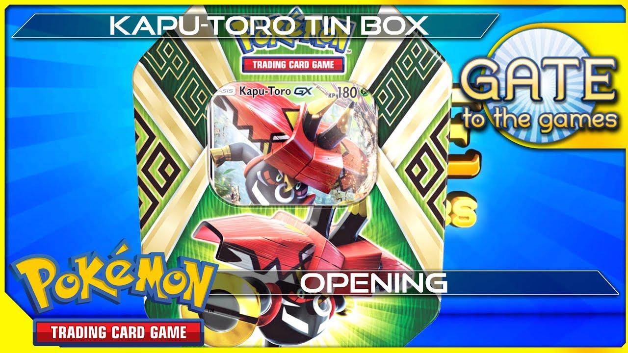 Stunde der Wächter Tin Box Kapu-Toro GX DE