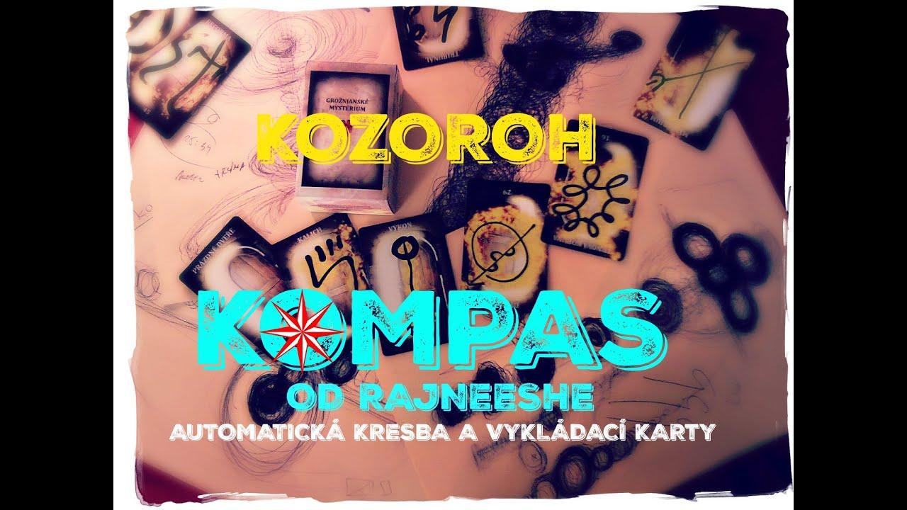 Kompas Kozoroh Unor 2016 Mesicni Automaticka Kresba A Vyklad