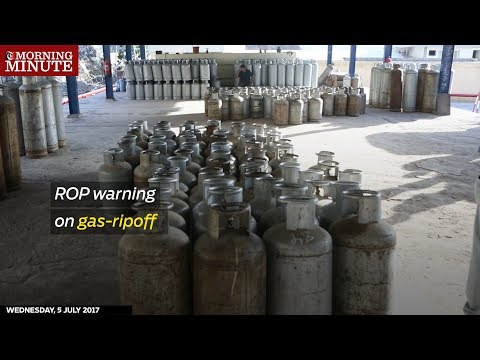 Warnings from the Royal Oman Police at Gas rip-off