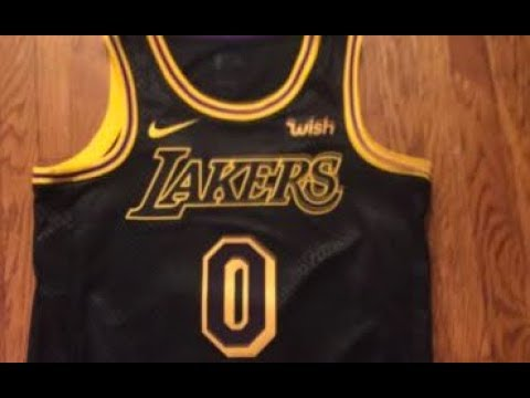 newest 0ca63 409d5 Nike Lakers Kyle Kuzma Swingman City Edition Jersey Unboxing -  LakersStore.com