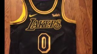 Nike Lakers Kyle Kuzma Swingman City Edition Jersey Unboxing - LakersStore.com