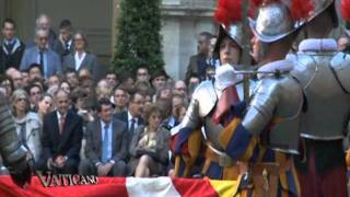 The Swiss Guards of today