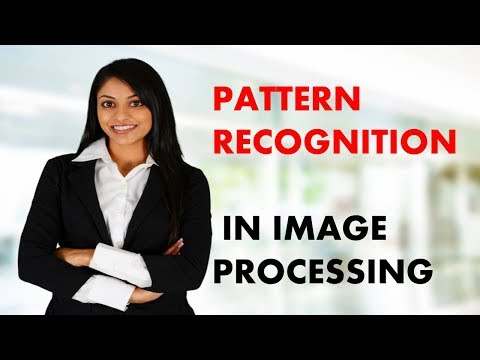 PATTERN RECOGNITION IN IMAGE PROCESSING