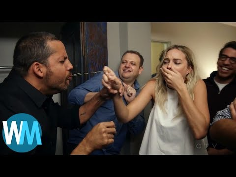 Top 10 Times David Blaine Freaked Out Celebrities