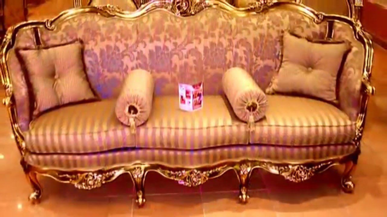 Salon louis xv baroque youtube for Salon louis xv