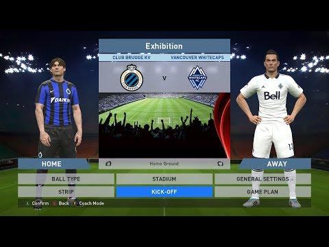 Club Brugge KV vs Vancouver Whitecaps, Jan Breydel Stadion, PES 2016, PRO EVOLUTION SOCCER 2016