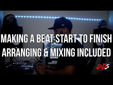 Making A Sample Beat Start To Finish (Beat Making, Arranging & Mixing)