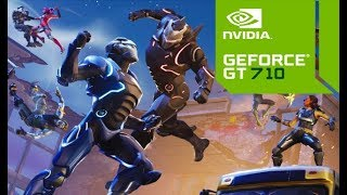 Fortnite on GeForce GT 710 Best Graphics Season 4 After Boosted