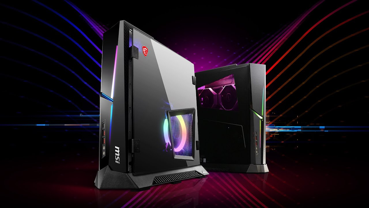 MSI MEG Trident X - The Most Powerful Compact 10th Gen Gaming Desktop | MSI