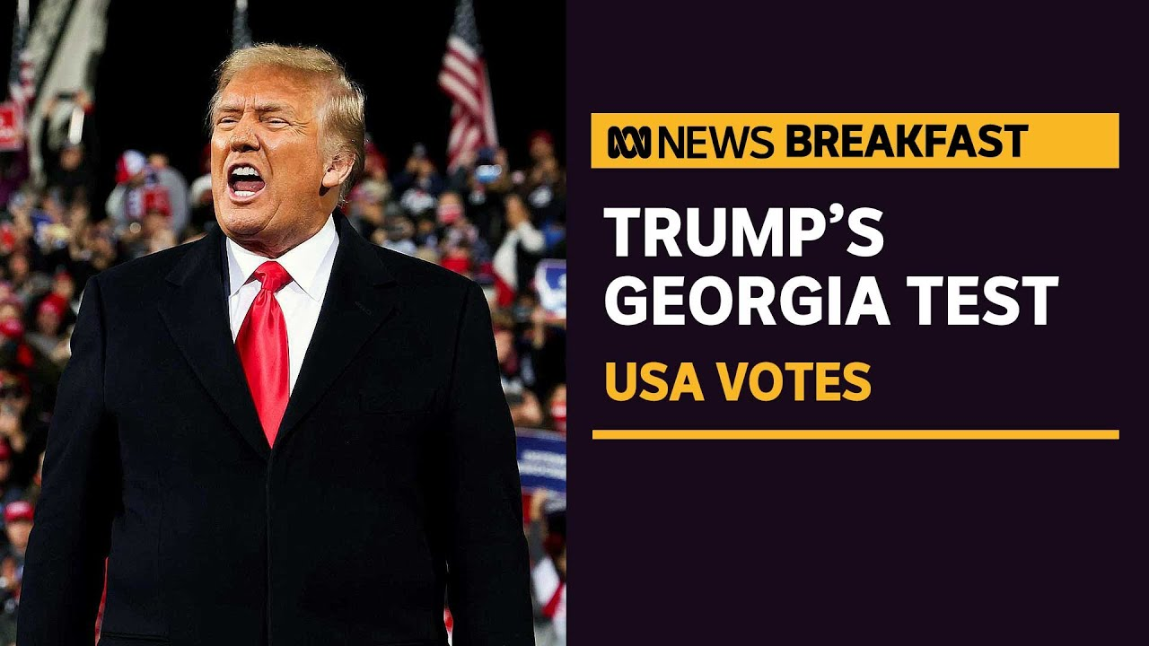 President Trump To Hold Georgia Rally Amid Fallout From Leaked Phone Call Abc News Youtube