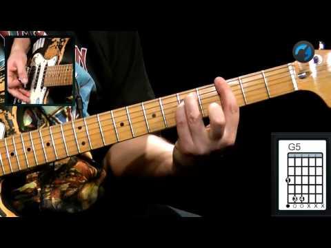 Iron Maiden - The Trooper (como tocar - aula de guitarra)
