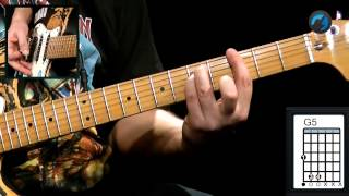 Iron Maiden - The Trooper (como tocar - aula de guitarra)
