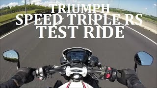 Triumph Speed Triple RS 2018 | Test Ride completo