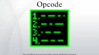 expanding opcodes