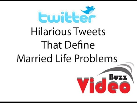 Hilarious Tweets That Define Married Life Problems