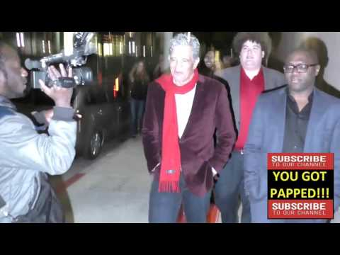 Ed Marinaro talks about NFL players staying virgins outside Argyle Nightclub in Hollywood