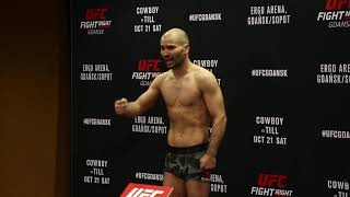 Artem Lobov + Andre Fili Official Weigh Ins