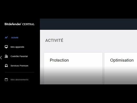 Comment utiliser Bitdefender Central