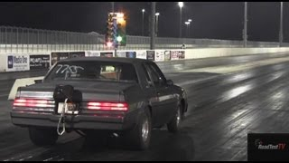 1000 HP 7 second Buick Turbo T - Type Street Car - 7.99 @ 175 mph - Drag Race Video - Road Test TV ®