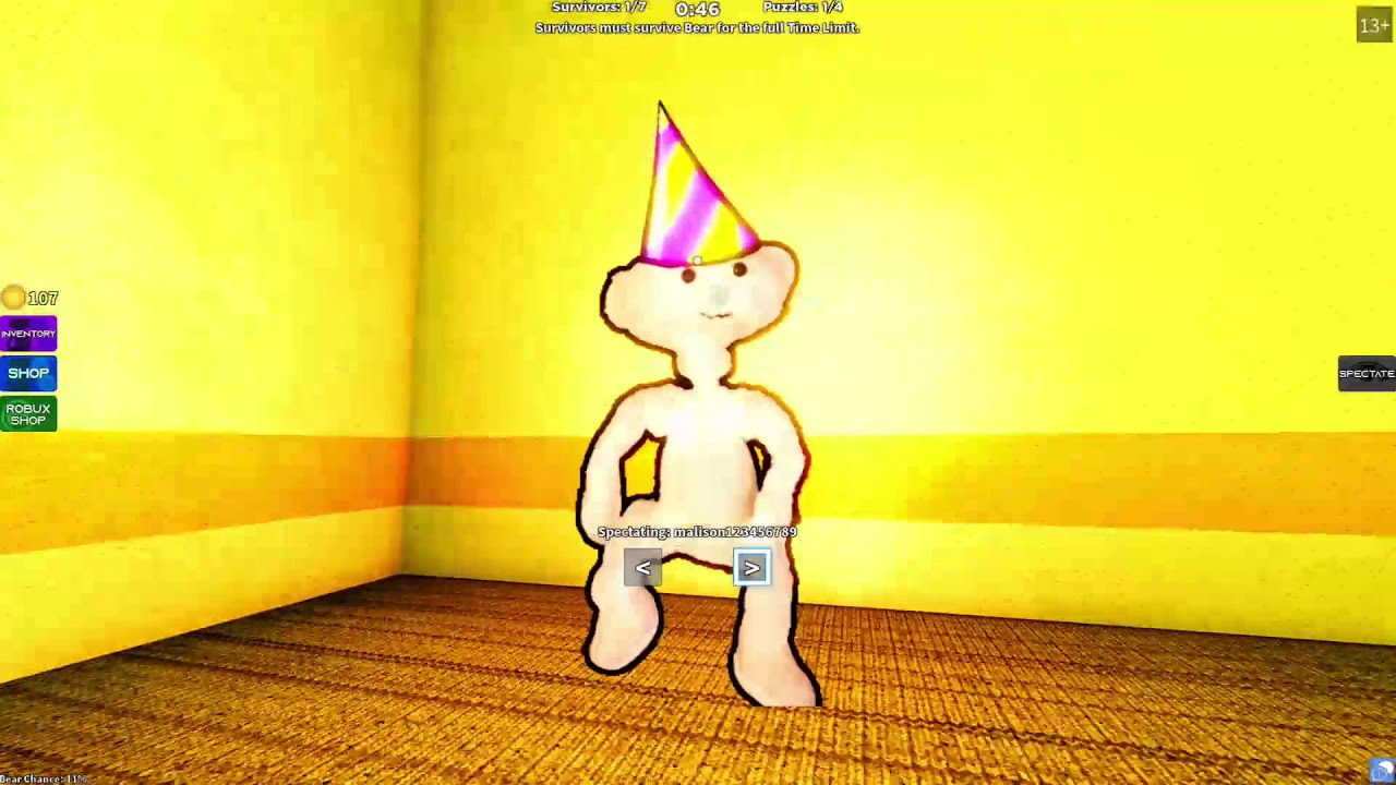 Yellow Bear Hat Roblox Another Roblox Bear Video Getting Cool Bear Skins Youtube