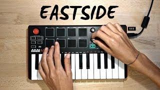 Eastside - benny blanco, Halsey & Khalid | Cover (Akai Mpk Mini Mk2)
