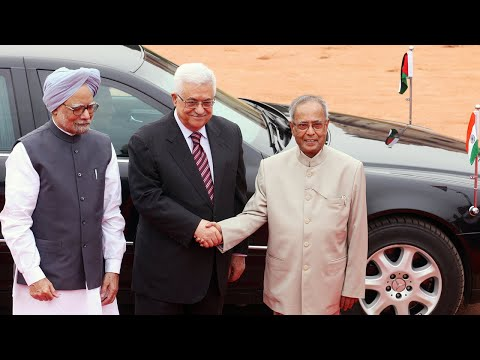 Ceremonial Reception of President of the Palestinian National Authority of the State of Palestine