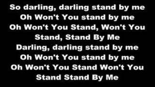 This is a lyrics video with Nofx - Stand by me.