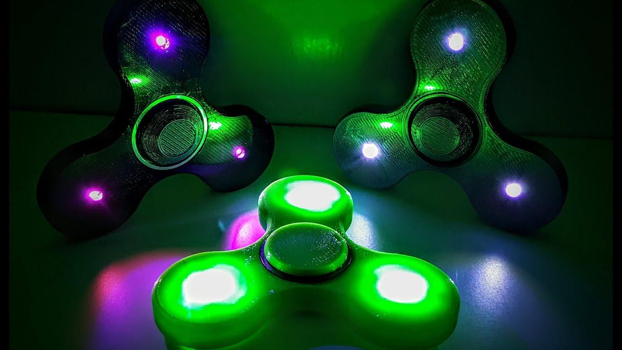 Fidget Spinner Led Lights